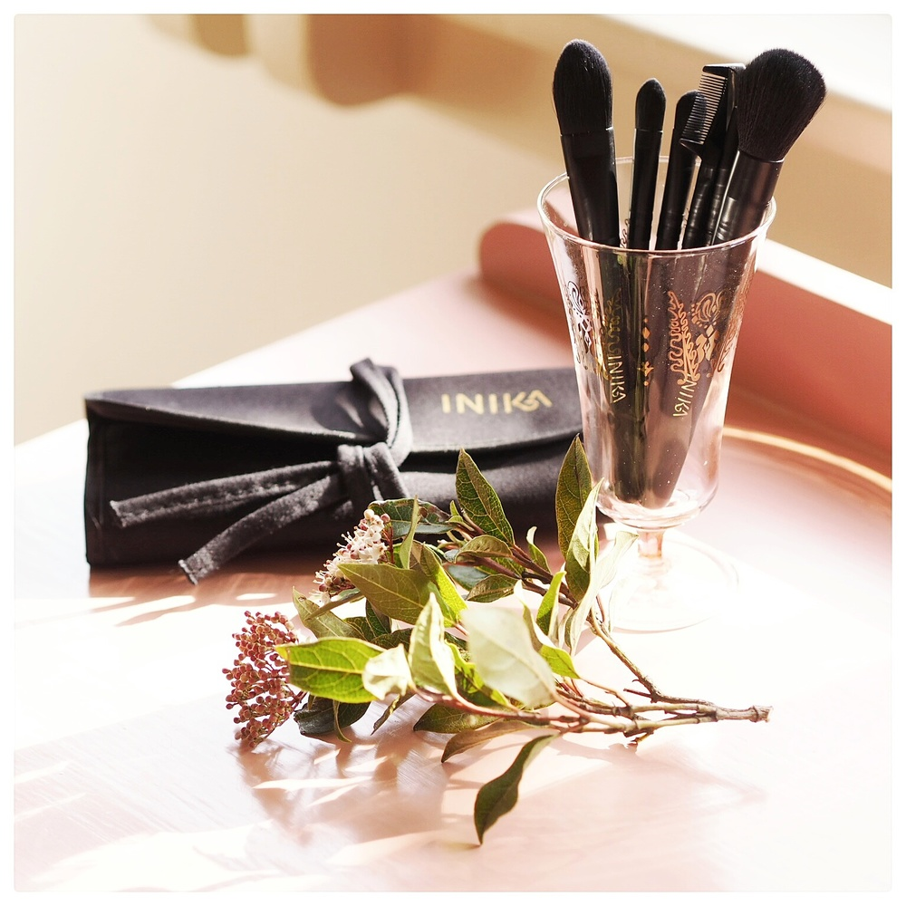 Review: Inika (fur free) makeup brushes