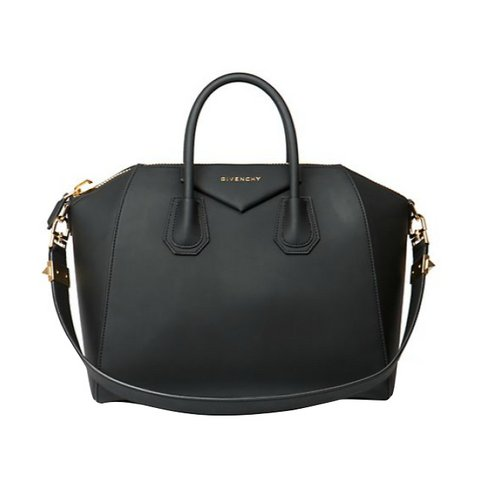 GIVENCHY ANTIGONA MEDIUM FAUX-LEATHER SATCHEL
