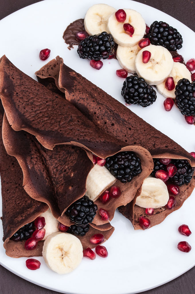 Chocolate vegan crepes? Oh yes please, we have to try this one!   Vegan