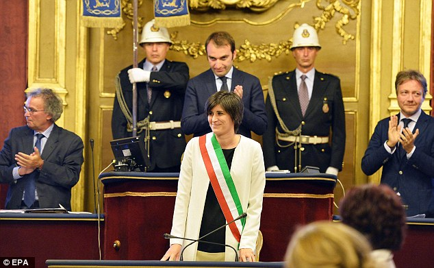 new turin mayor vegan vegetarian