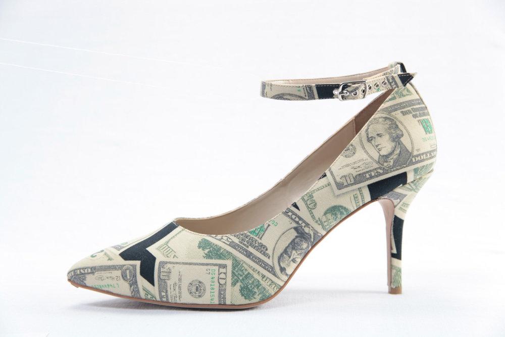 moeny print heel olsen haus vegan shoe sale.jpeg