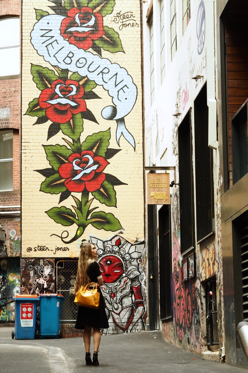 Melbourne's ACDC lane... just ignore that beef sign..