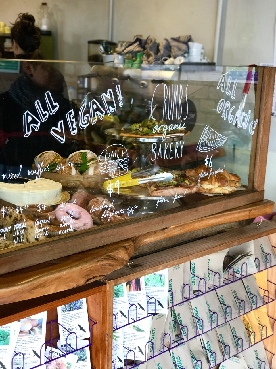 Best vegan baked bakery goods in Melbourne! Vegan tofu croissants, pies, pizza, sandwiches, cakes, slices, donuts, healthy treats. Fitzroy.