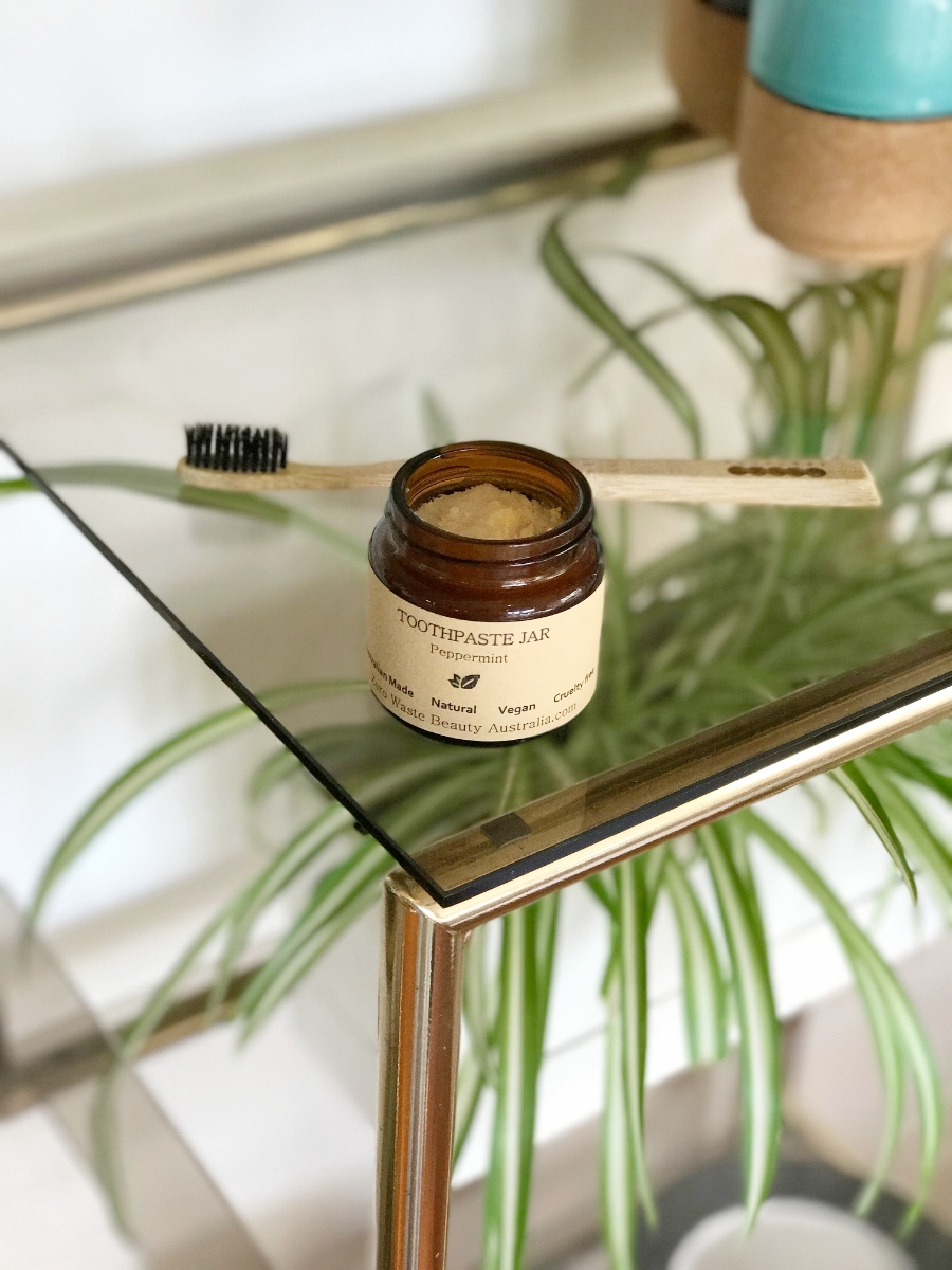 zero waste beauty australia vegan toothpaste