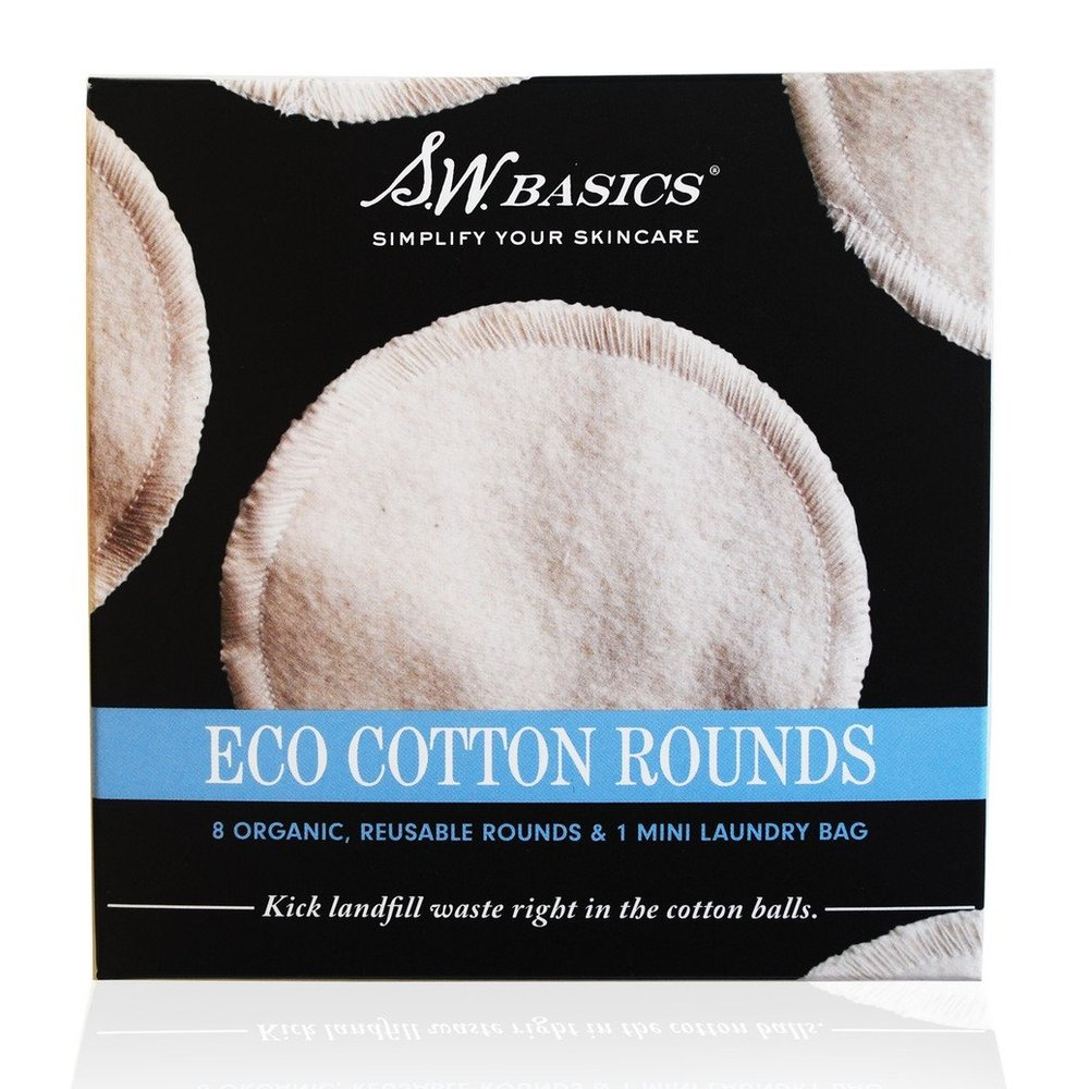re-usable organic cotton rounds? - What a good idea!