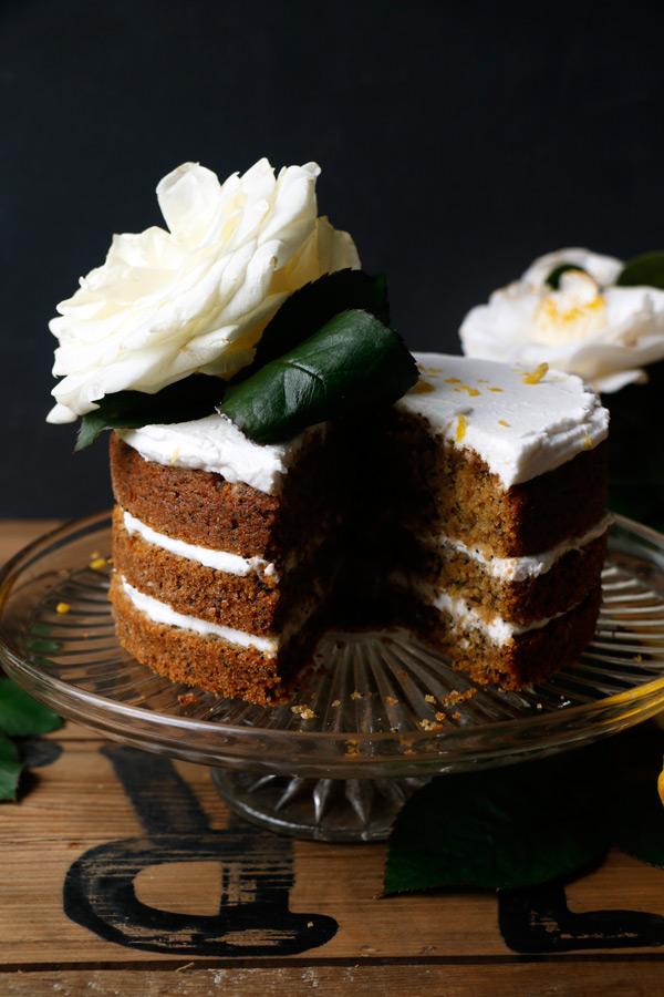 10: Lemon Poppy Seed Cake - Nirvana Cakery