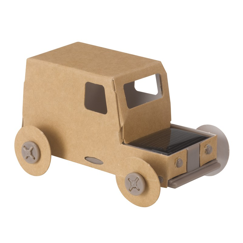 ethical shop - Made in France from recycled materials, this solar-powered truck is just one of the many toys available with a gift voucher from the Ethical Shop