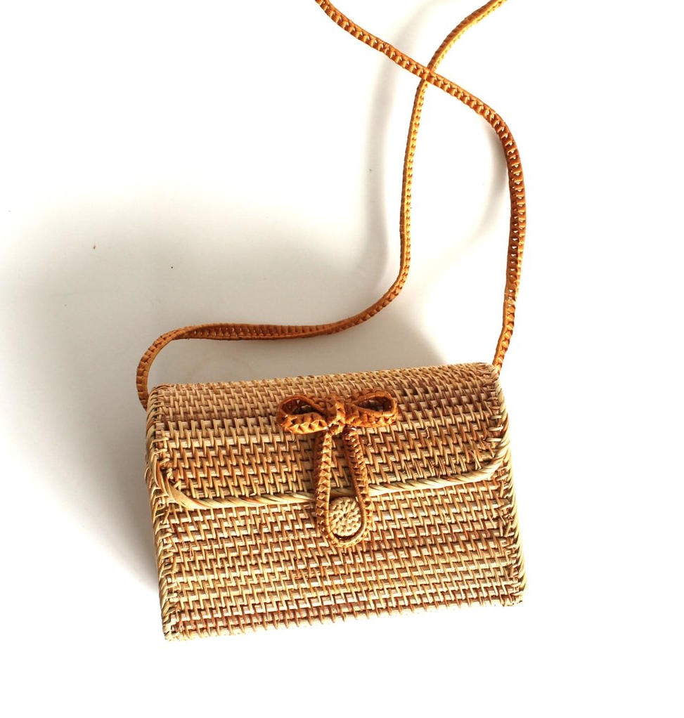 Ethical Gallery - Gift a handbag-lover a voucher to redeem for this seriously cute rattan handbag, exclusive to Ethical Gallery (an online vegan curated handbag store) or choose from one of their other labels, like Angela Roi or OOD. (PS - currently offering 20% discount using code HOLIDAY20)