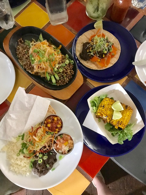Best vegan food in Port Douglas, Cairns. The Mexican in Macrossan Street.