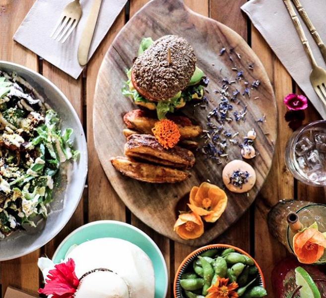 Elixiba plant-based bar and restaurant in Byron Bay. Image by  @danielleking.photography