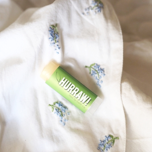 Hurraw - This well known vegan lip balm has a large range of flavours and is made in the USA.