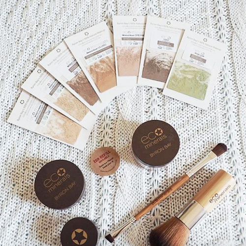 Eco Minerals - We have so much love for this Byron Bay, Australia based makeup brand. They are very passionate about vegan, natural and planet-friendly cosmetics, and their mineral foundation is a favourite for both of us. Learn more about Eco Minerals in our interview with founder Lulu Starman here.