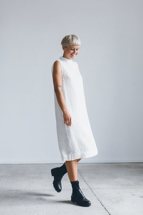 5 white linen dresses for keeps — FUTURE KING & QUEEN