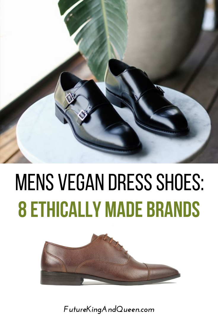 Vegan, ethical and stylish formal dress shoes brands for men.