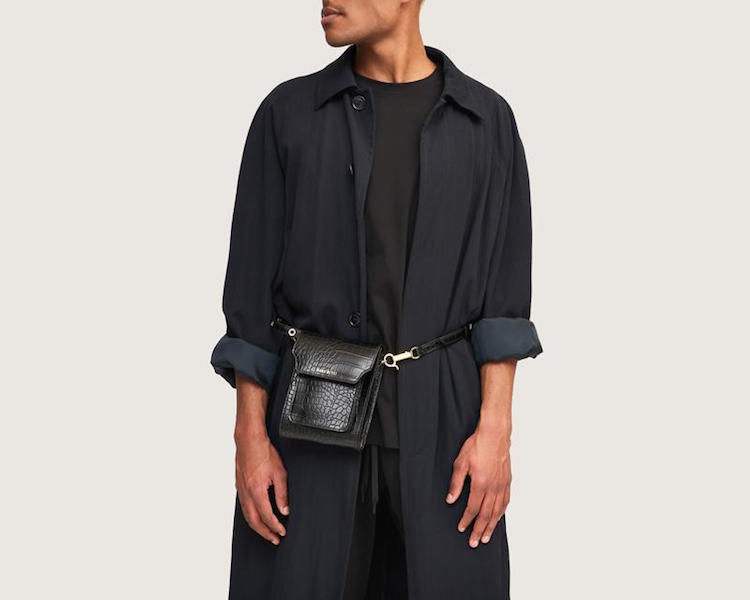 Non-leather hip belt bag by Australian vegan handbag brand Sans Beast