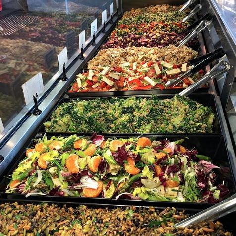 Vegan friendly salad bar in Melbourne - Kooks Kitchen South Yarra and South Melbourne