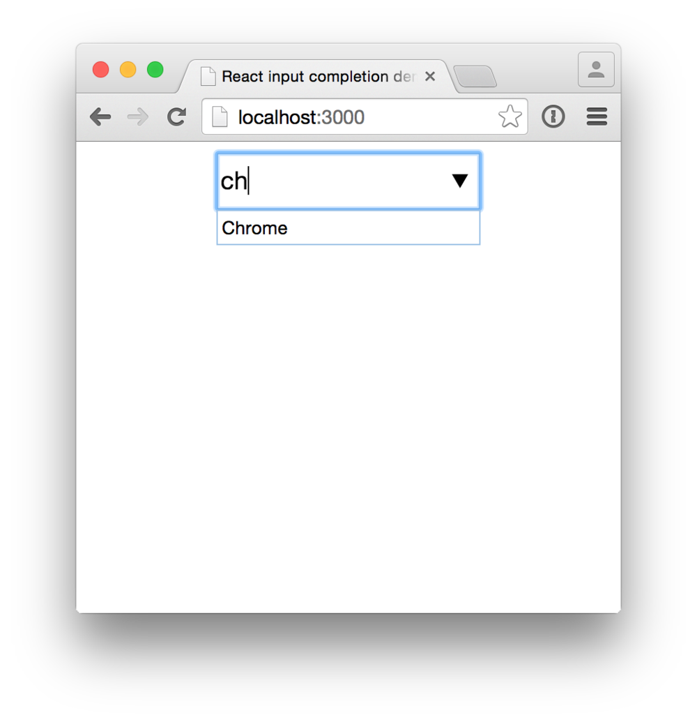 A demo of react-input-completion.