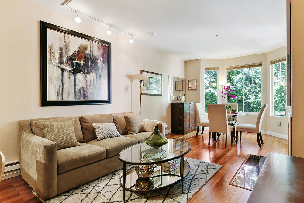 260 Caldecott Living Room