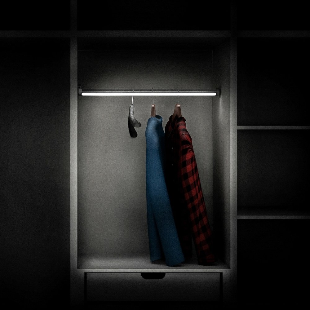 NITELIGHT™ CLOSET ROD Provides Even Illumination Of Clothing In A Closet  While Serving As A Sturdy And Attractive Clothes Hanging Solution.