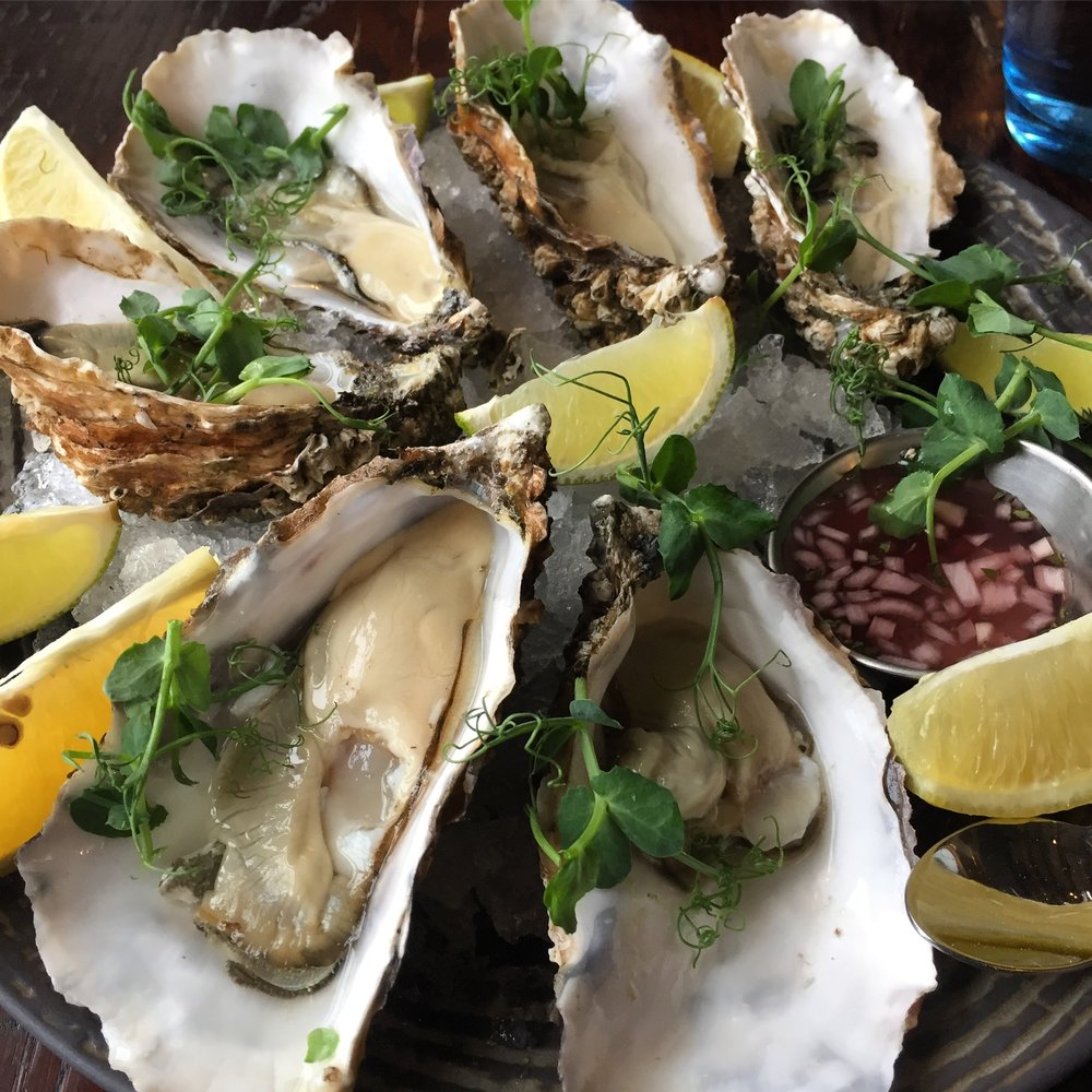 Of course, a sprinkle of Jorge Salt & Co. Hand-Harvested Pure Sea Salt on Florida Oysters to provide the perfect crunch and flavor.