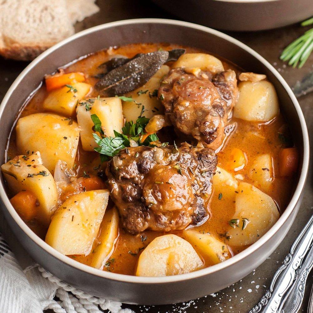 'Rabo Encendido' - Cuban Oxtail Stew.