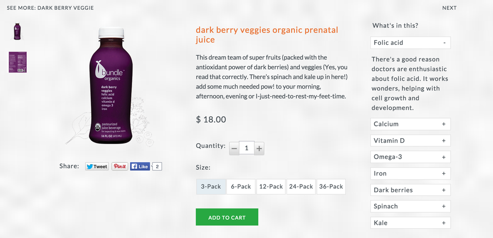 Product Description: Dark Berry Veggies