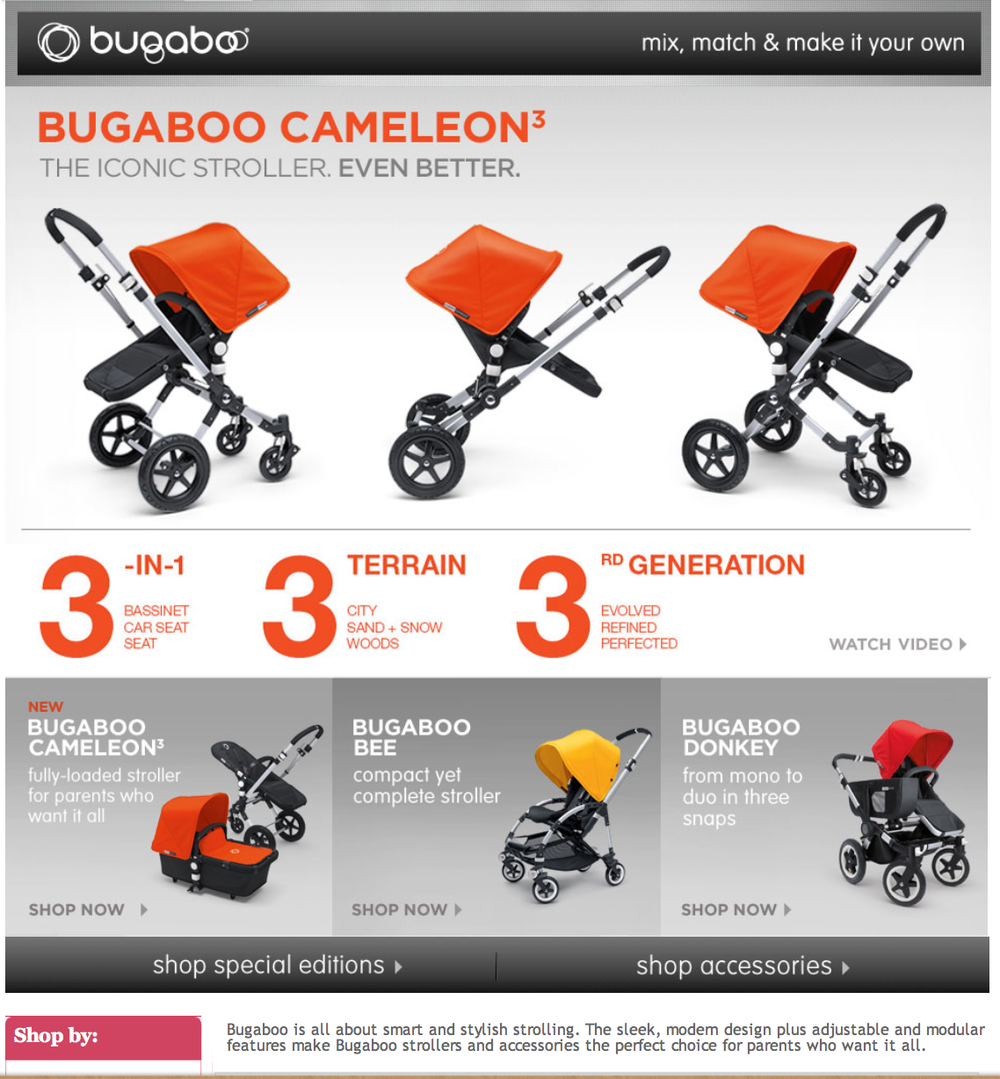 Brand Page: Bugaboo