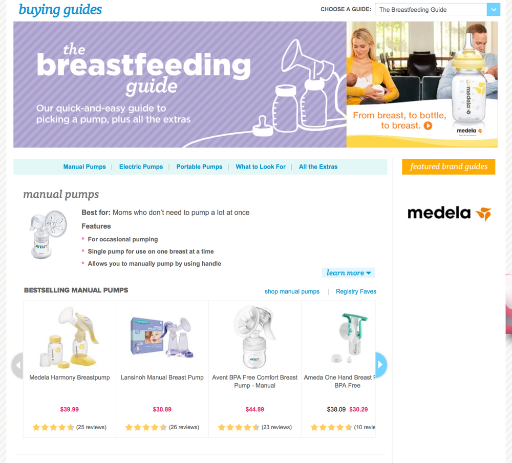 Buying Guide: Breastfeeding