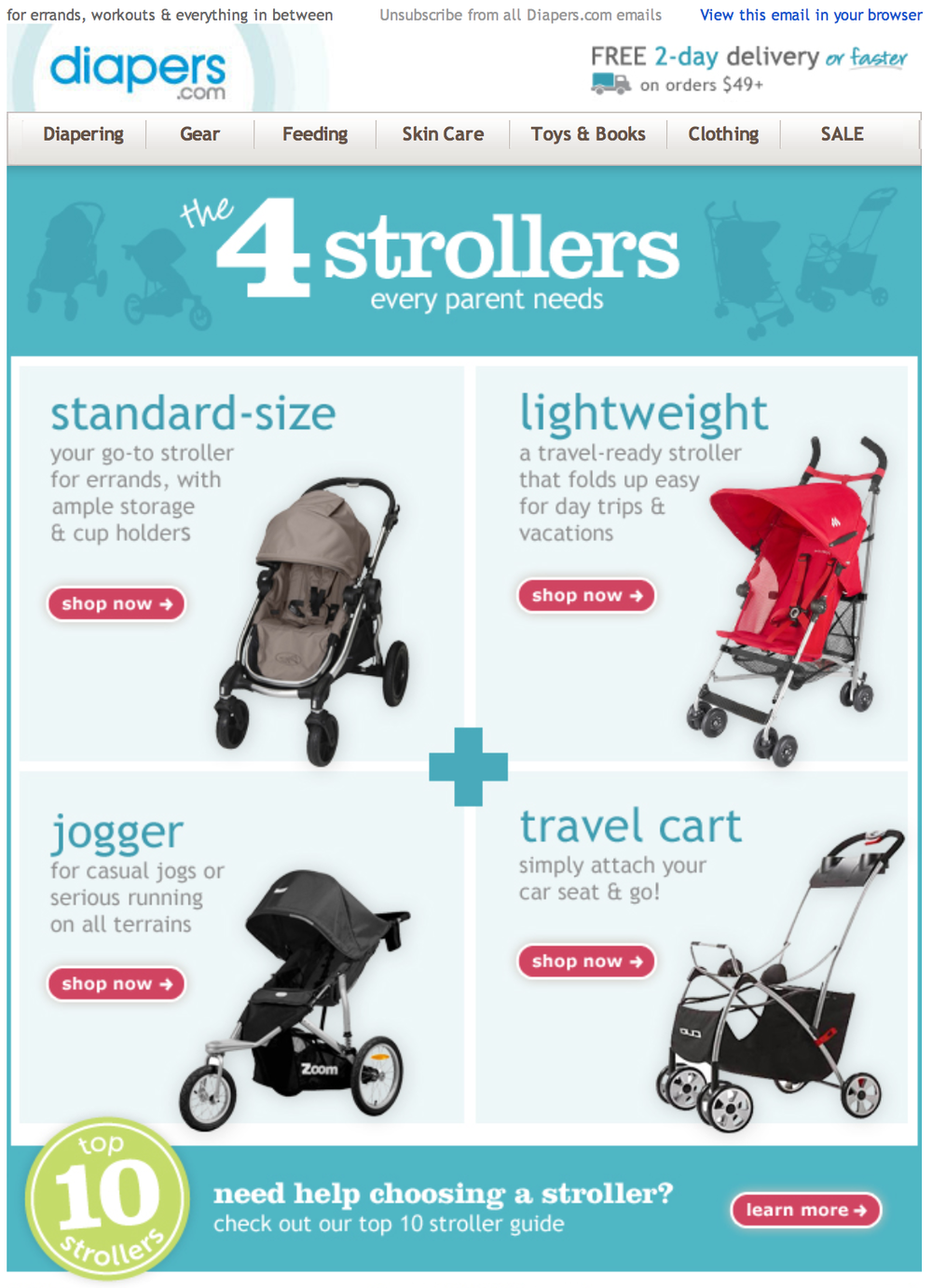 Email: 4 Strollers Every Parent Needs
