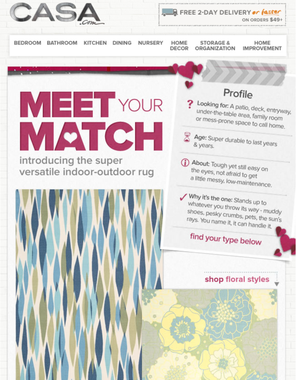 Email: Meet Your Match