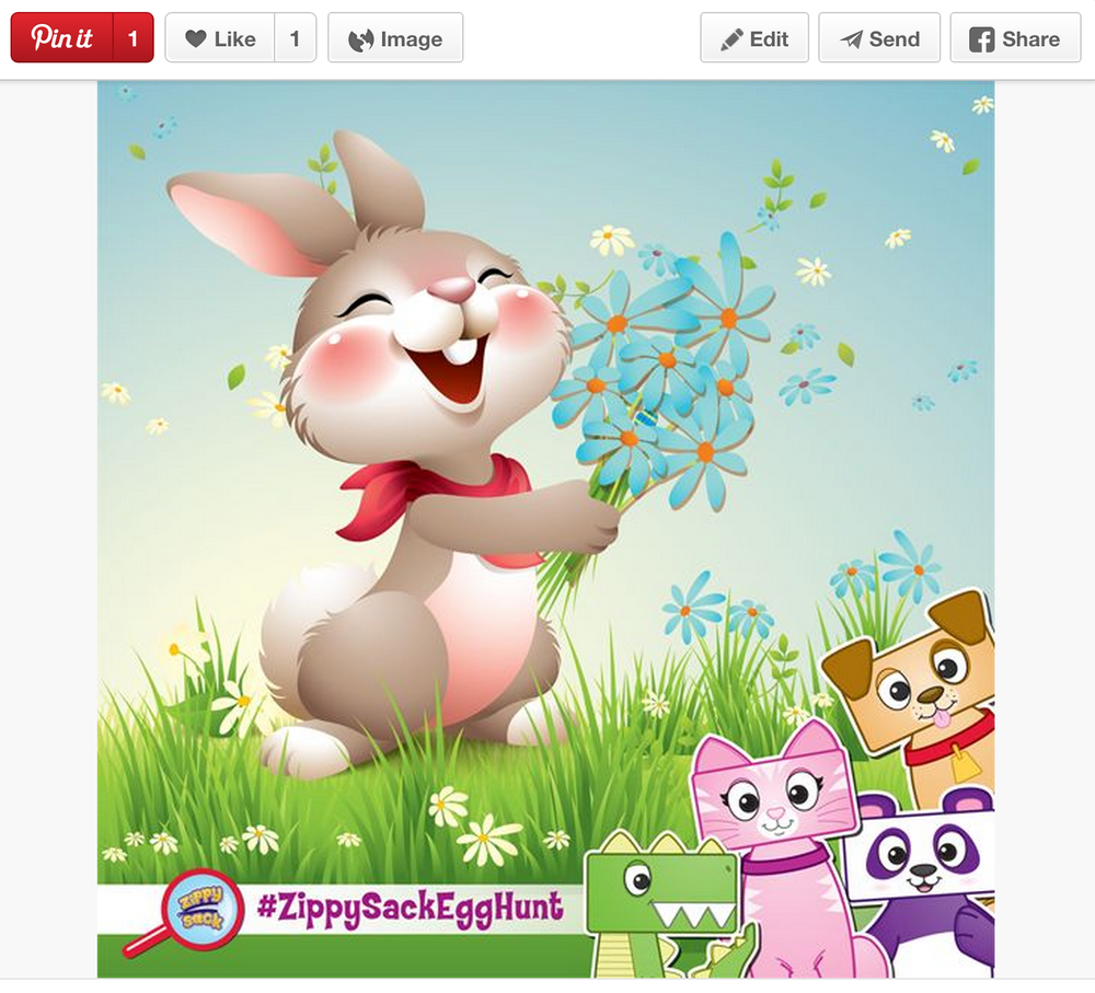 Pinterest: The Great ZippySack Egg Hunt