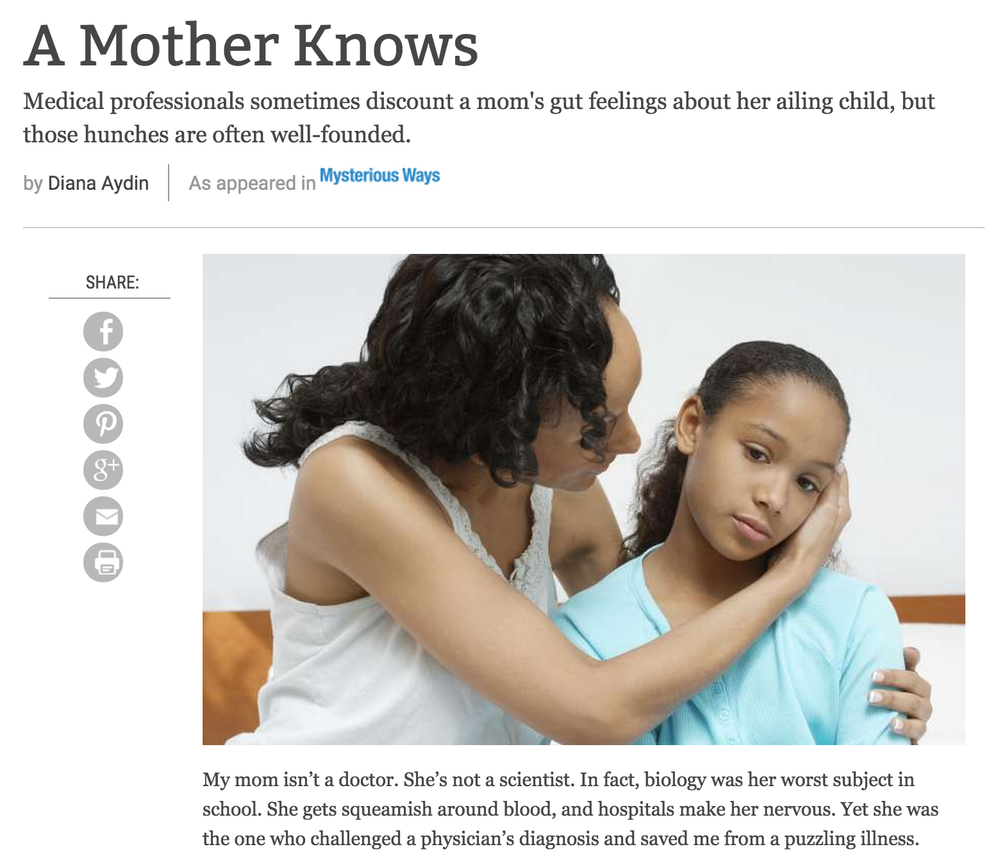 Story: A Mother Knows