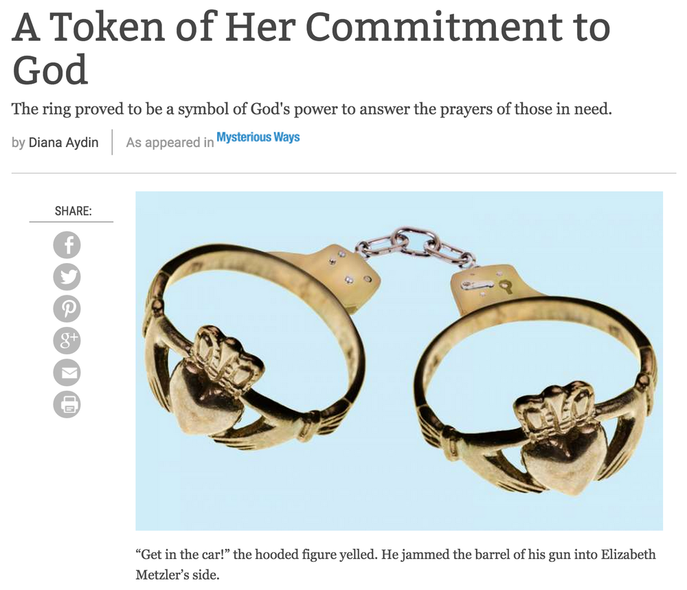 A Token of Her Commitment to God