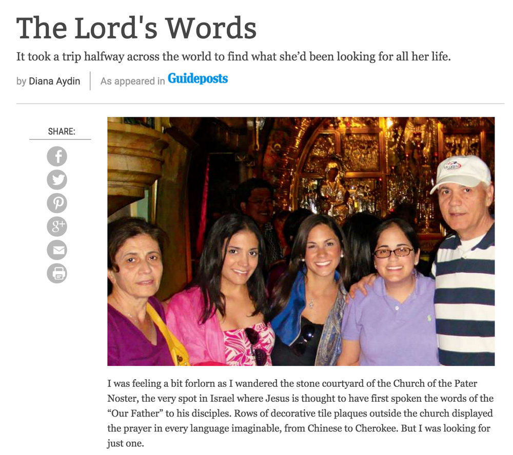 Story: The Lord's Words