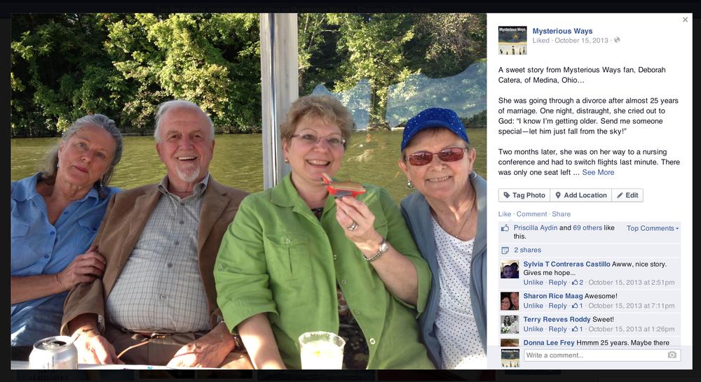 Facebook: Reader Story