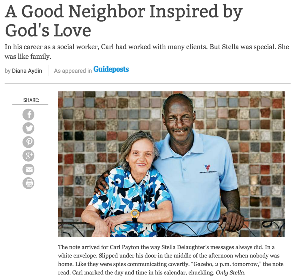 Story: A Good Neighbor Inspired by God's Love