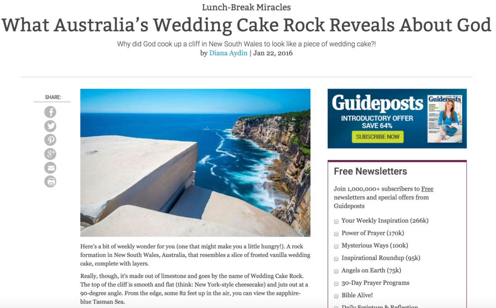What Australia's Wedding Cake Rock Reveals About God