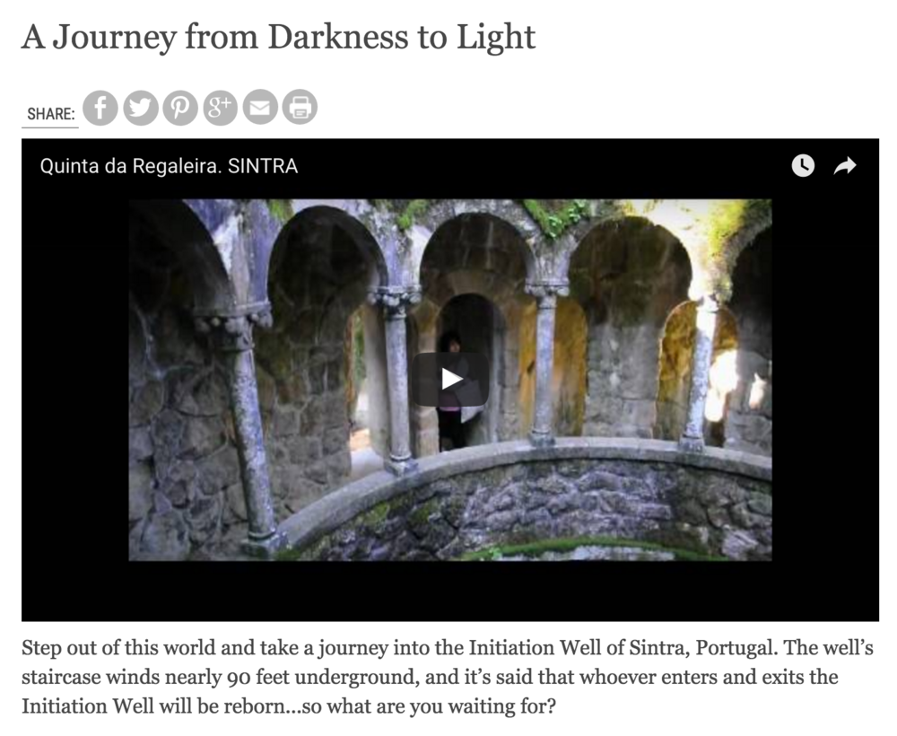 Web Extra: A Journey from Darkness to Light
