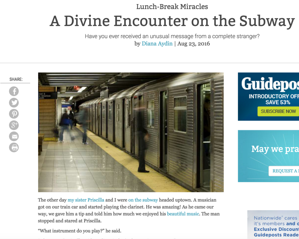 A Divine Encounter on the Subway