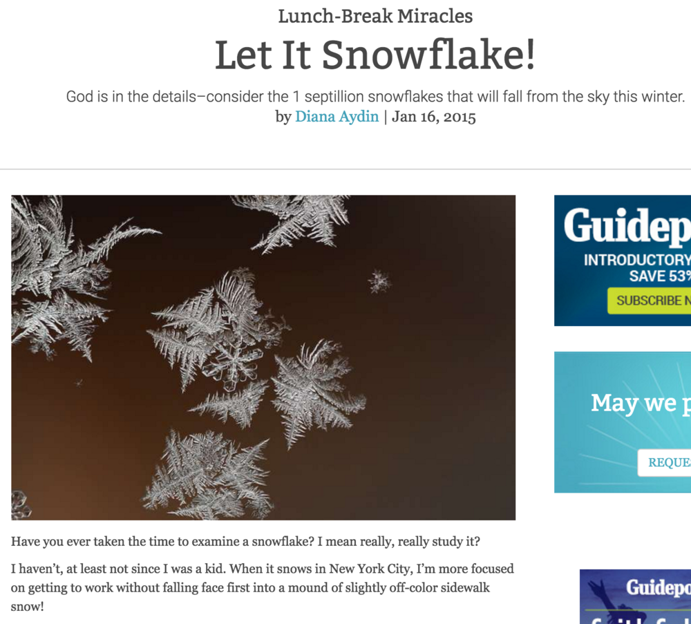Let It Snowflake!
