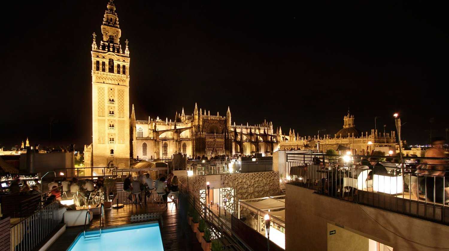 10 Of The Best Rooftop Bars In Seville Chica In Spain