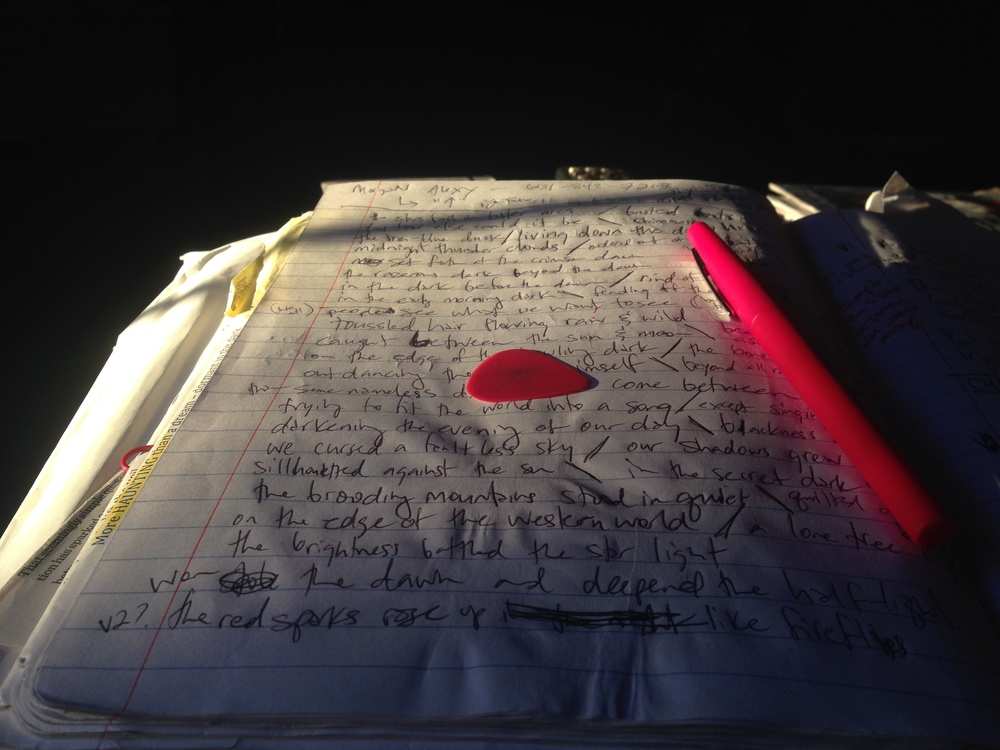 10-25-14 Marathon Writing Session