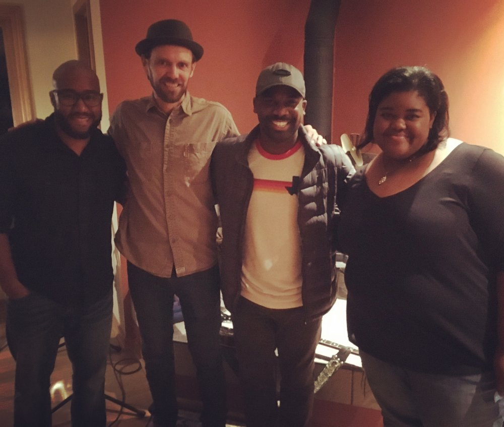 Al Bettis, Billy King, Antwaun Stanley, Jenny Jones - October 2017
