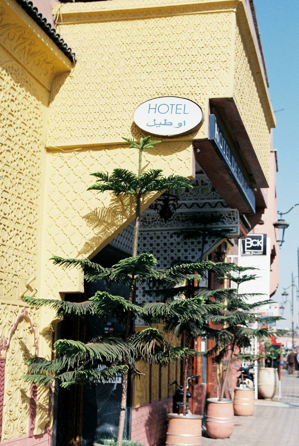 Marrakesh Hotel Kodak Portra