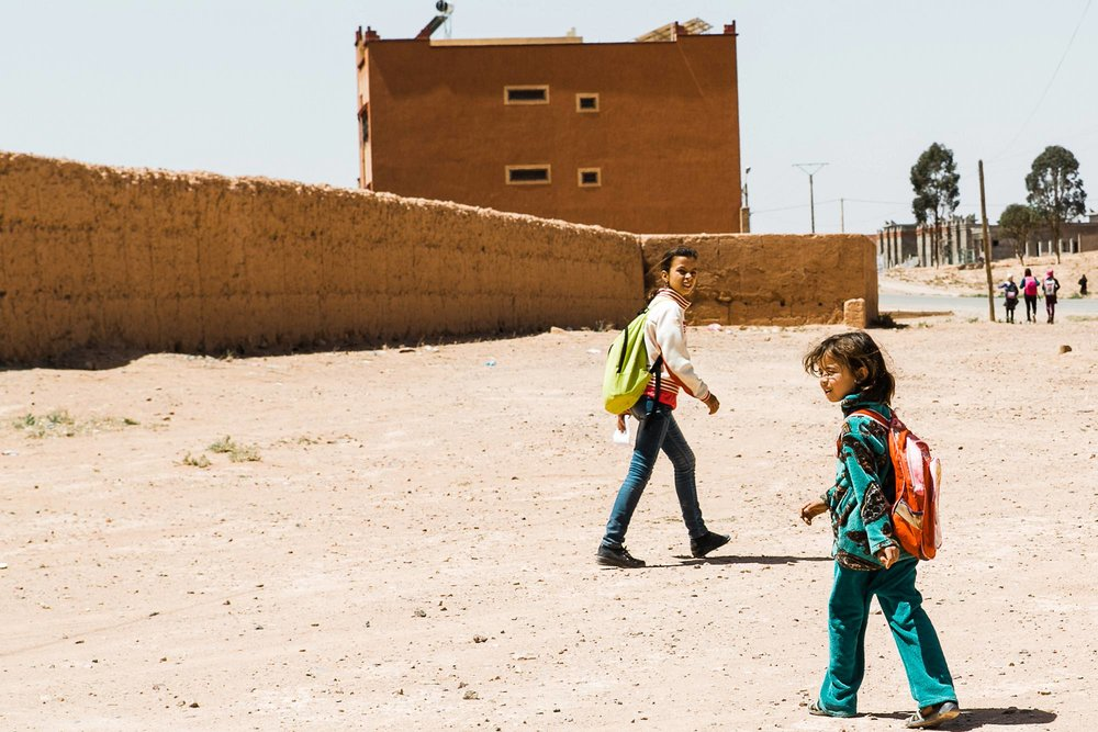 Moroccan village Sahara