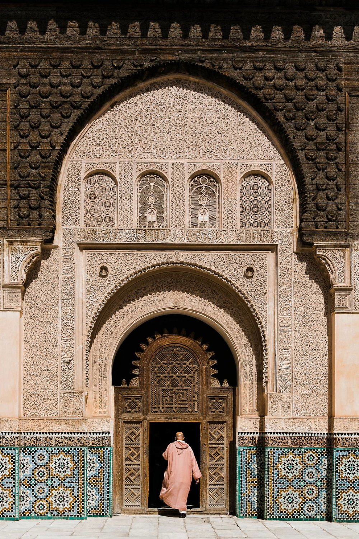 Ben Youssef Madrasa Marrakech Morocco