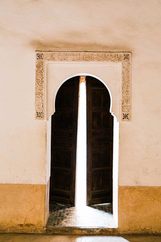 Moroccan door Marrakech