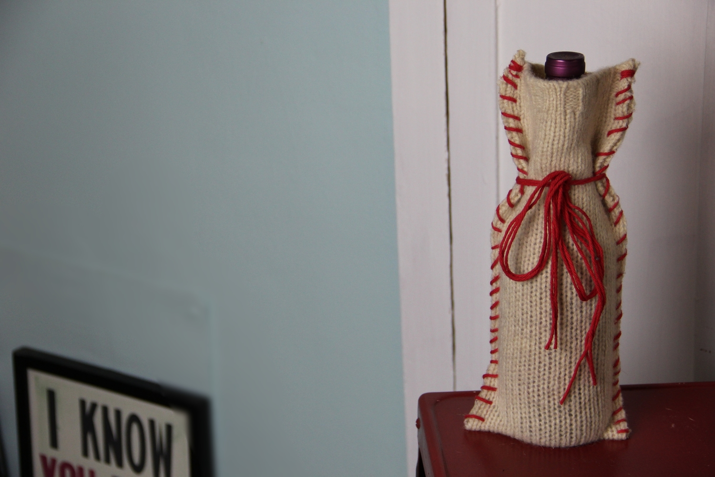 Diyd Sweater Wine Bag Tutorial Diy Dammit