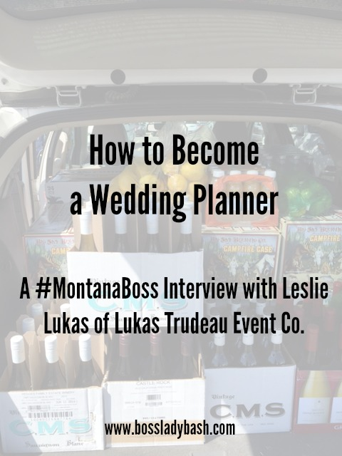 How to become a wedding planner, photo by Leslie Lukas