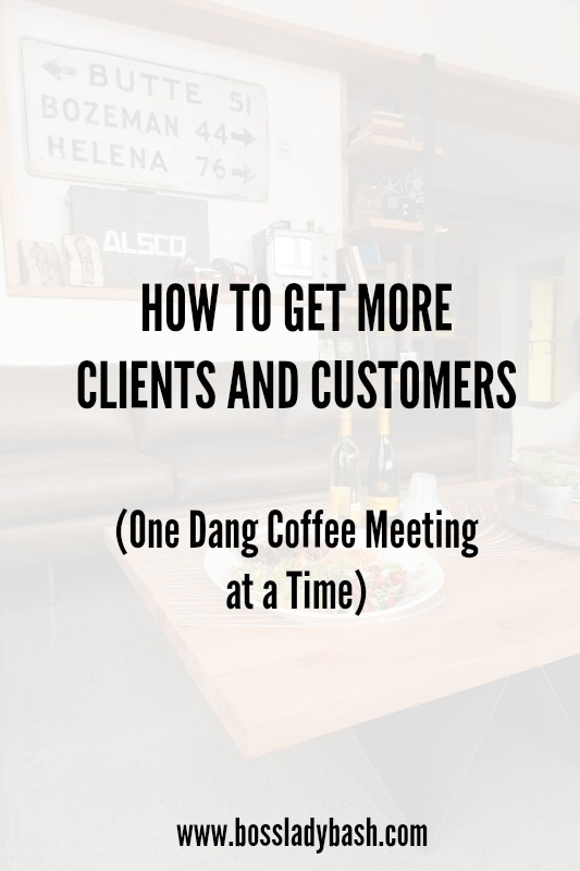 Get more clients and customers through networking